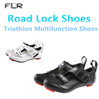 2019 NEW FLR Men's & Women's Professional triathlon cycling Road lock shoes ultralight breathable cheap Israeli highway shoes DH