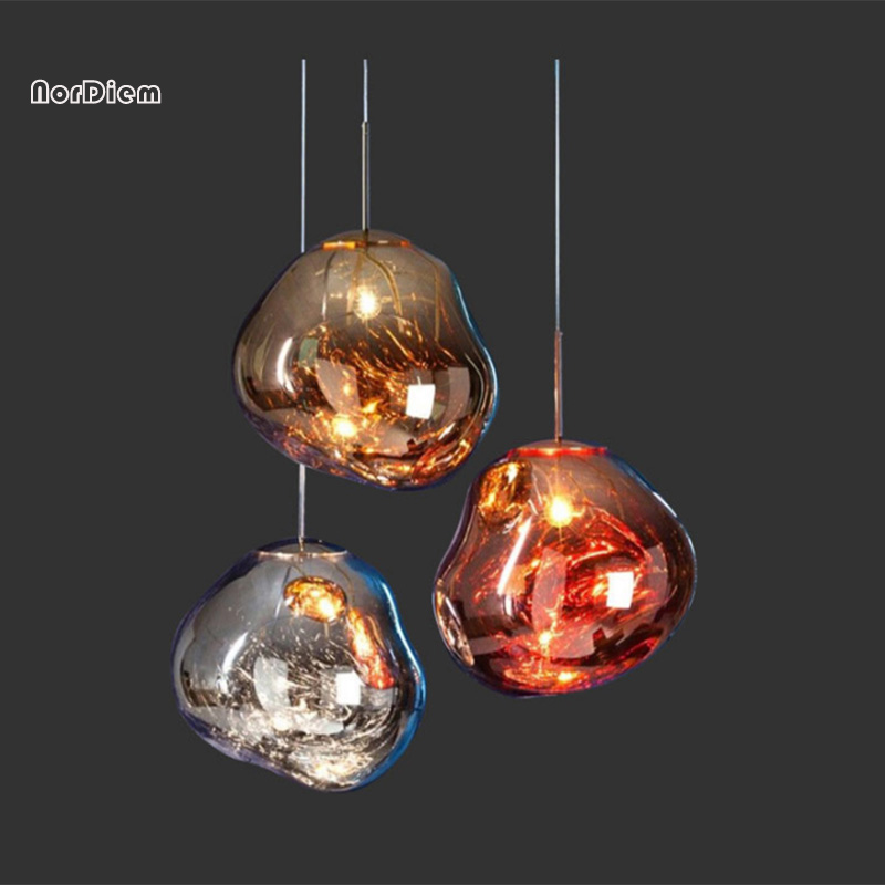 Chandeliers Modern Novelty Chandelier Lights Restaurant Bar Lamp Living Room Coffee Shop Glass Hanging Light Fixtures Carefully Selected Materials