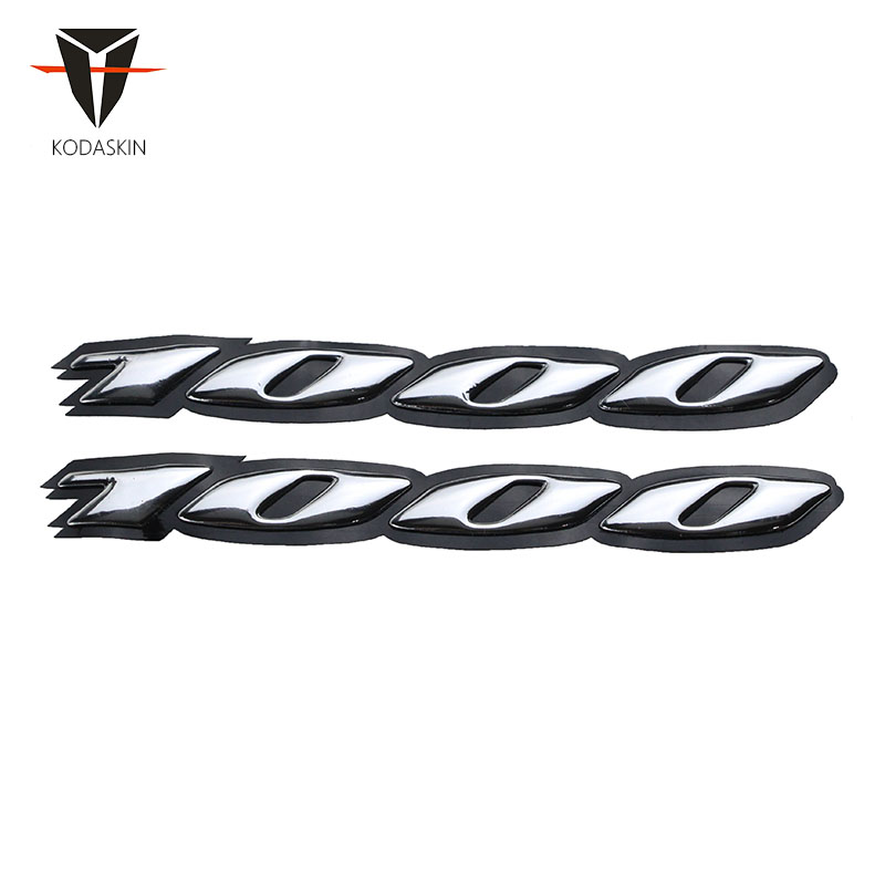 KODASKIN Motorcycle 3D Raise Emblem Sticker Decal for