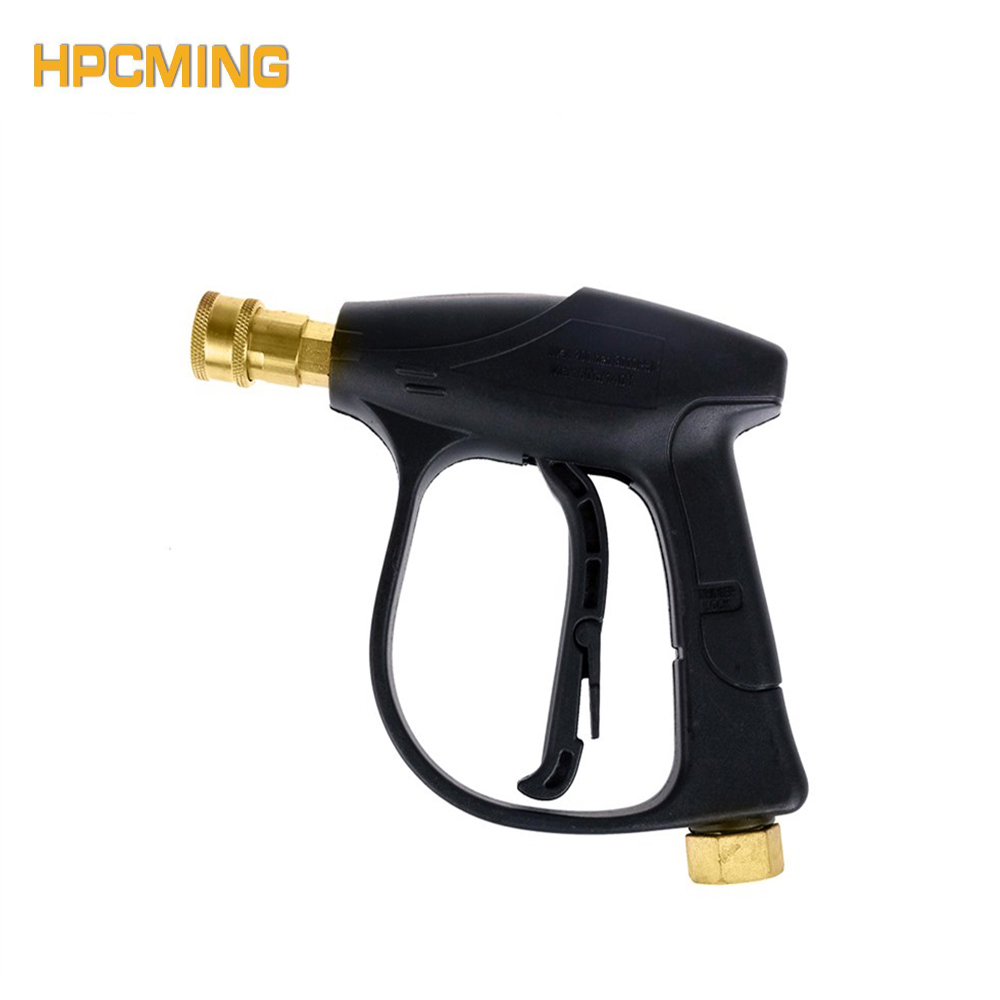 2017 200bar/3000psi Pressure Car Wash Maintenance & Care Water Gun With M22/15mm Female And 12mm Quick Connect Connector(cw006)
