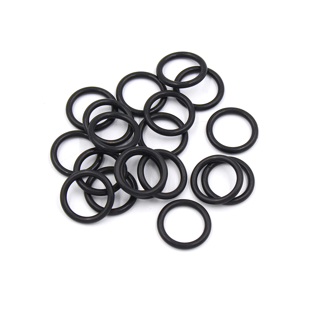 20PCS/1SET PCP Paintball Replacements Sealing NBR Rubber O-rings Durable Socket Black Gasket For Tank Air Filling Valve M18x1.5