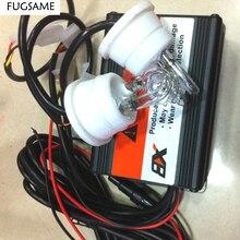 FUGSAME Автомобиль Грузовик Мотоцикл стробоскоп предупреждающие огни U Стиль полицейская Лампа ксенон мигающий пожарный туман аварийный светильник DC12V 60 Вт
