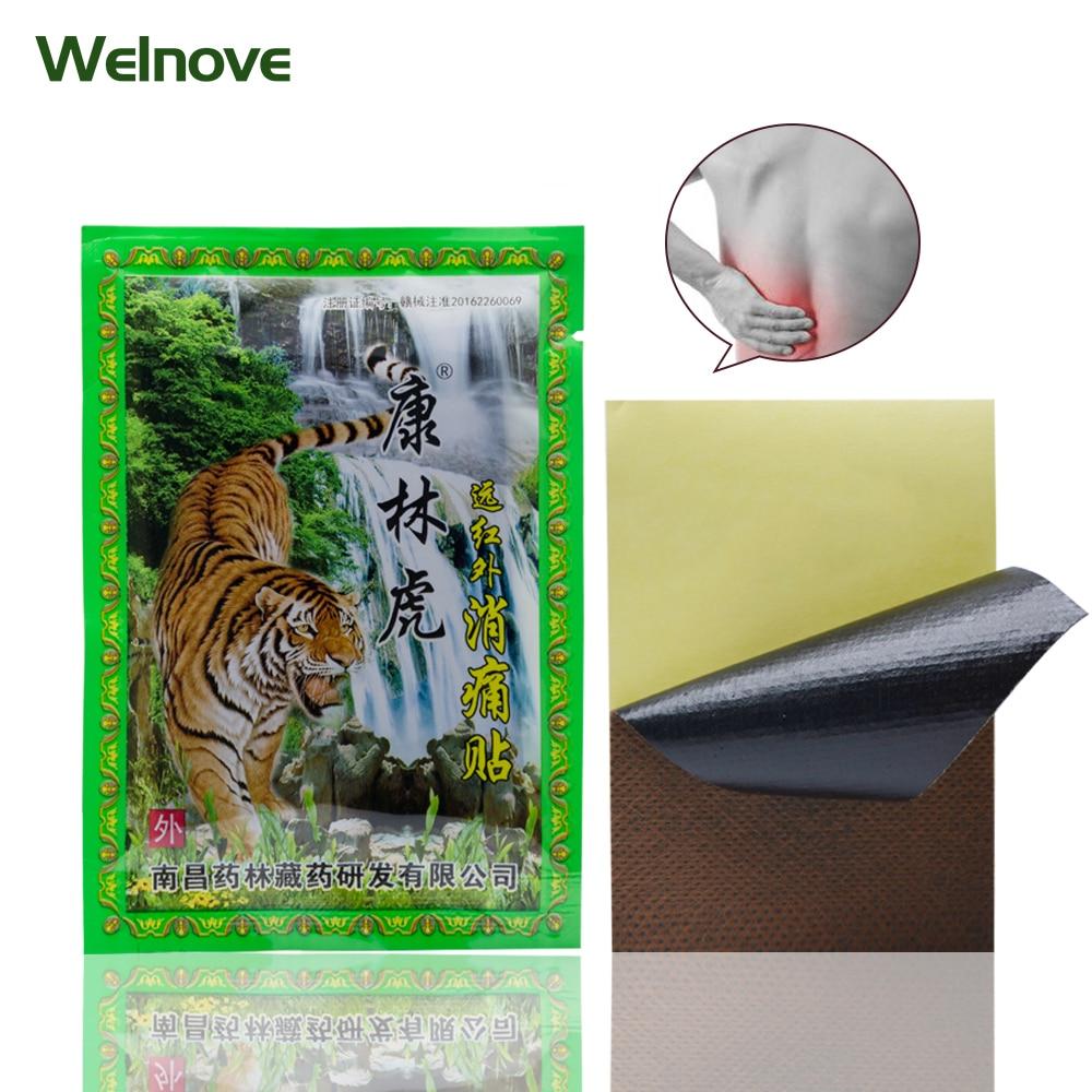 8Pcs /Bag Body Behind The Neck Muscular Pain Patch Chinese Meridian Stress Binder Patch Arthritis Plaster C1489 стоимость