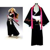 Bleach Matsumoto Rangikubbs Japan Kimono Cosplay Costume Tailor made[G344]