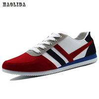 New 2018 Spring Autumn Fashion Canvas Lace Up Men Shoes Plimsolls Breathable Male Sneakers For Men