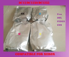 Free shipping refill color toner powder compatible for xerox dc12 / dc1250 / dc1255 high quality