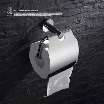 Toilet whole copper tissue boxes Bathroom toilet waterproof roll film roll of paper carton paper towel holder