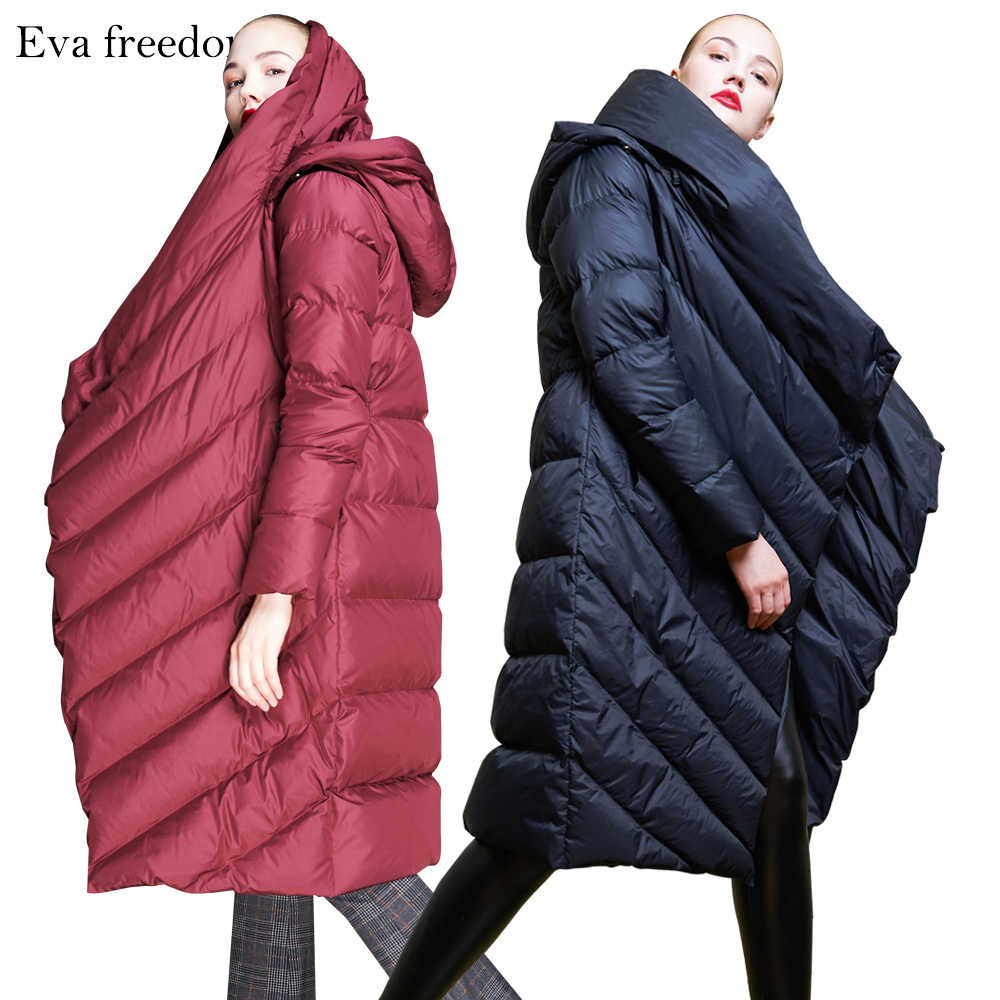 7d5bac4efb8 ... High Quality 2018 Winter New Collection Women Hooded Long Down Coat  Female Winter Warm Thick Down ...