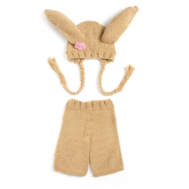 Pantalones Set Animal Diseño Flores de Ganchillo bebé Sombrero Bebé ...
