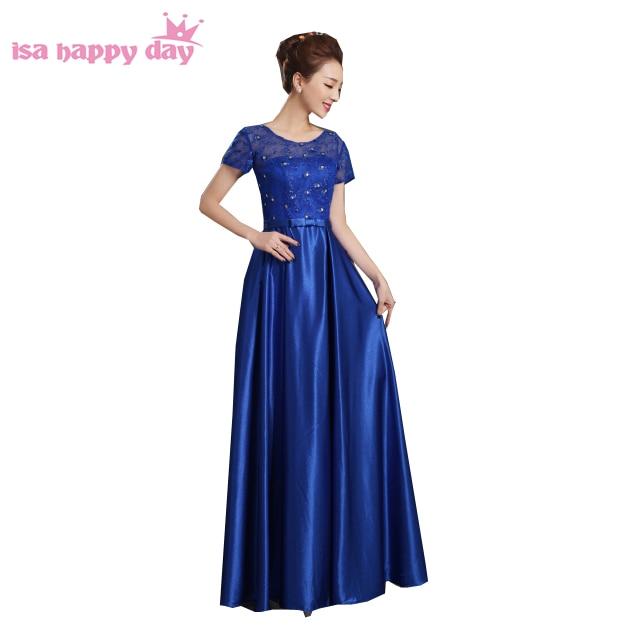royal blauwe jurk