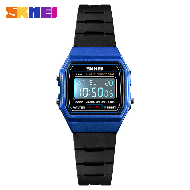 Obedient Skmei Children Watch Boys Life Waterproof Digital Sports Watch Kids Alarm Date Gift Reloj Digital Hombre Reloj Deportivo 1460 Fine Workmanship Children's Watches