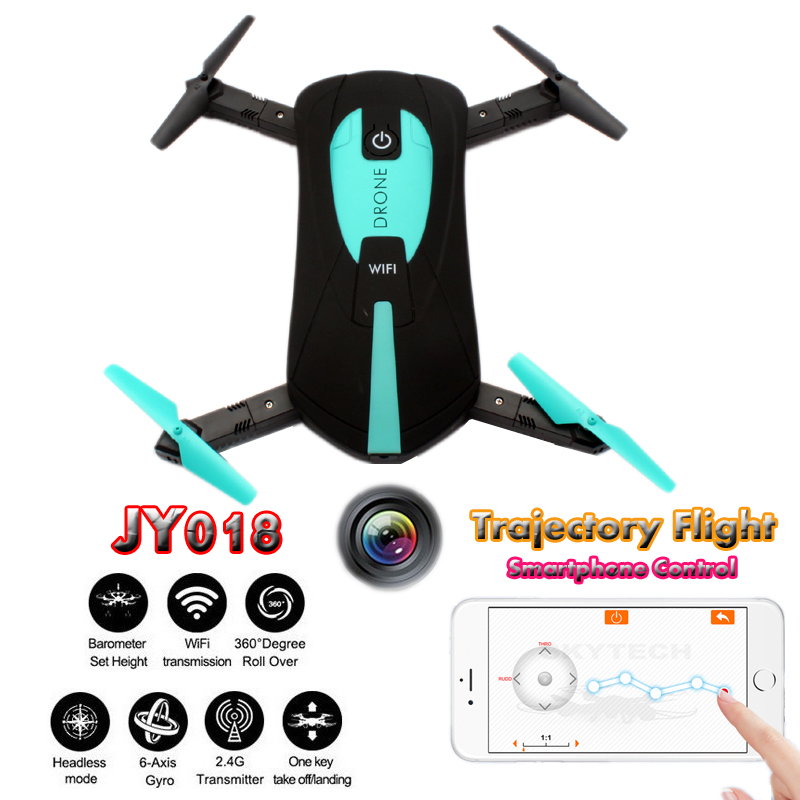 JY018 Quadrocopter Pocket Foldable Selfie Drones With Camera HD Altitude Hold FPV Quadcopter Headless Mini Dron RC Helicopter