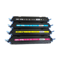 CNLINKCLR Replacement 124A Q6000A Q6001A 6002A 6003 Color Toner cartridge for HP2600,1600,2605,1015,1017 for Canon LBP5000 5100