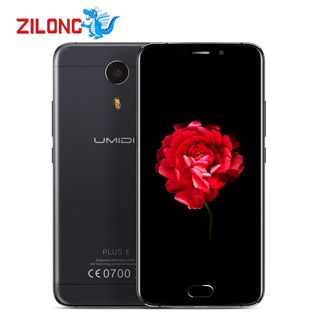 UMIDIGI UMI Plus E Helio P20 MT6757 Front Touch ID Smartphone Octa Core 6GB RAM 64GB ROM 5.5 Inch Dual Sim Card 4G Mobile Phone