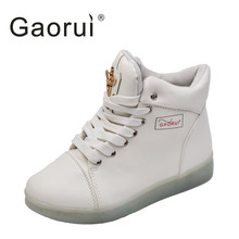 Gaorui Waman Lace Up Shoes LED Luminous Breathable. US  42.00   Pair Free  Shipping 6dd084aed115