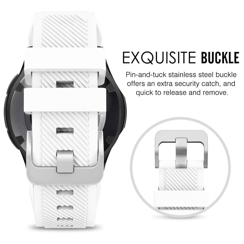 18 Цвета резиновый ремешок для samsung Шестерни S3 Frontier силиконовые браслеты для часов 22 мм Шестерни S3 классический замена Браслет группа