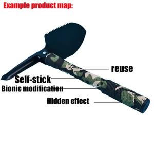 Image 5 - 4.5 センチメートル * 5 メートル狩猟テープ迷彩ステルスキャンプハント撮影ツールシリーズの防水不織布テープ混合粘着迷彩タップ