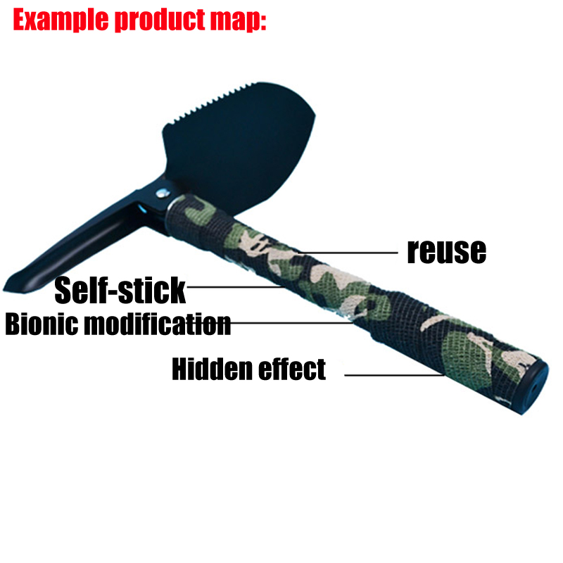 Image 5 - Tactical hunting 5cmx4.5m Camo Outdoor Shooting Tool Camouflage Stealth Tape Waterproof Wrap Durable-in Blind & Tree Stand from Sports & Entertainment