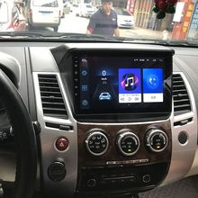 Pantalla táctil súper delgada Android 8,1 radio navegación GPS para Mitsubishi Pajero deporte tabletas estéreo Multimedia Bluetooth