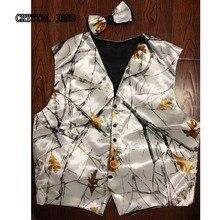 Камуфляжные жилеты жениха, изготовленный на заказ, взрослый кантри Свадебный костюм на выпускной