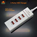 Cost-effective AC/DC adapter 4 Ports USB Charger phone Charger High-Power 3.4A fast charge for iPhone Samsung smartphone Tablet