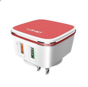 Image 2 - LDNIO A2405Q Quick 2.0 2 Usb poorten UK/EU/US Plug Muur Mobiele Telefoon Smart Charger