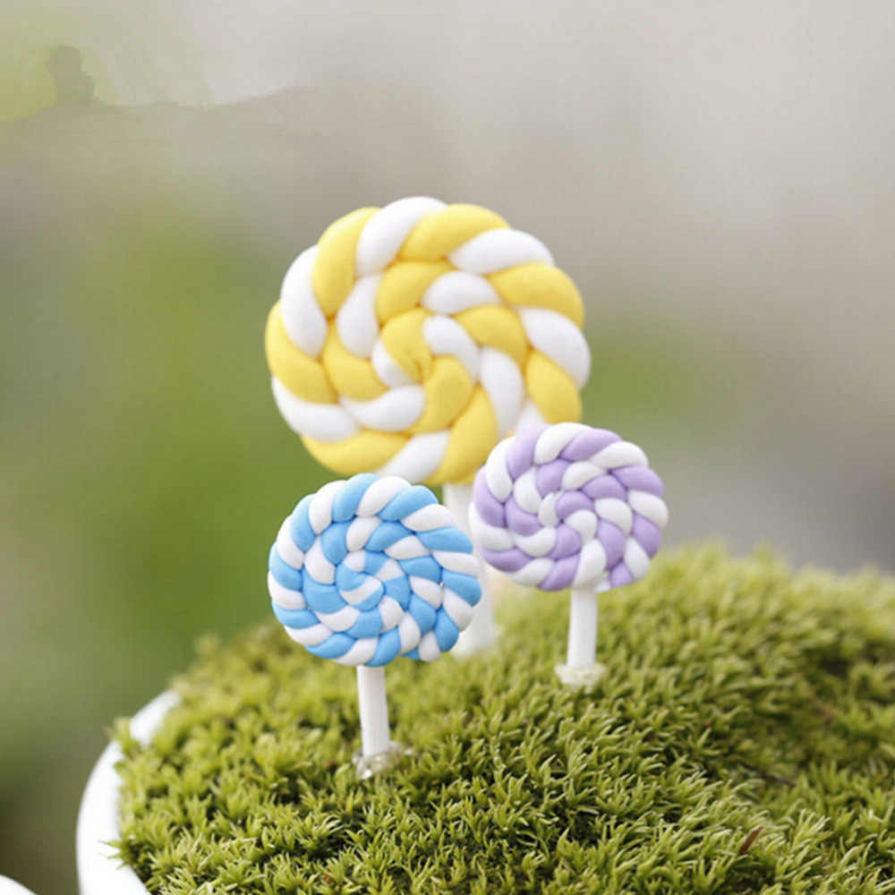 Новые красочные искусственные леденцы Minature сахарные конфеты Мини DIY ролевые игрушки ремесло Ранние развивающие игрушки 1 шт