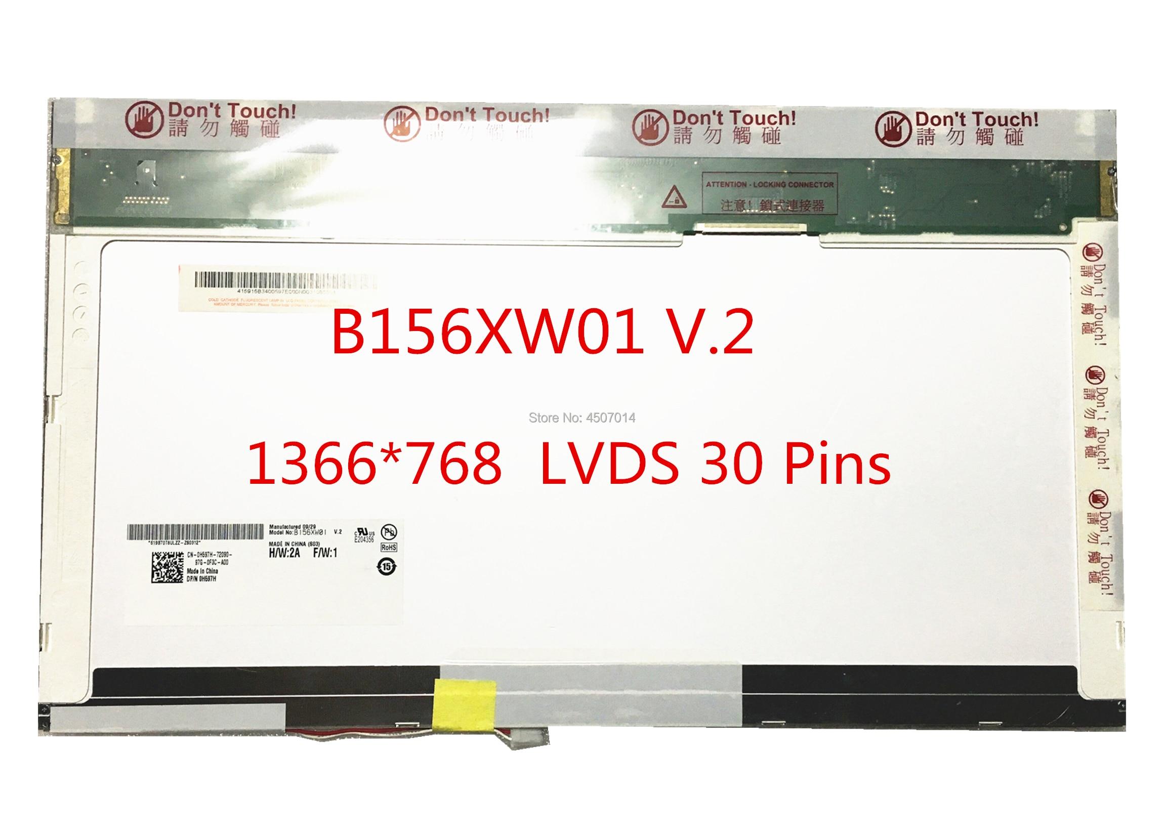 """Toshiba B156XW01 15.6/"""" Schermo Laptop CCFL"""