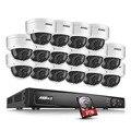 Annke 6mp poe nvr 1080 p dia e noite inteligente reprodução 16ch sistema de câmera de segurança 2 tb