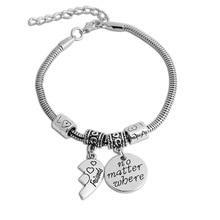 "Heart-Shaped Stitching Bracelet Foreign Trade ""Best Friends"" Good Friends Wild Couple Bracelets For Friends"
