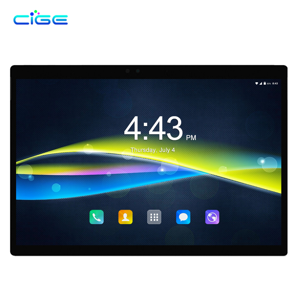 CIGE M9 Russian 10 Inch Tablet Andorid 8.0 6GB RAM 64GB ROM Tablets PC 4G Lte Phablet For Pad Netbook Gaming Computer