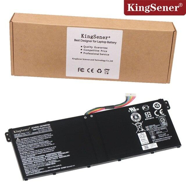 Kingsener originais nova bateria para acer aspire e3-111 e3-112 ac14b18j e3-112m es1-511 travelmate b115-m b115-mp ac14b18j ac14b8k