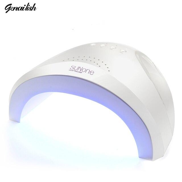 SUNone UV Lamp Nail Dryer 48W UVLED Lamp UV Gel Dryer 365+405nm Curing for UV Gel LED Gel Nail Polish Nail Art Tools-genailish