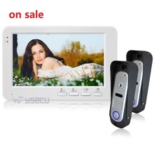 Homefong 7 pulgadas TFT LCD Monitor Video de la Puerta Teléfono de La Puerta 600TVL Sistema de Intercomunicación de Bell de puerta de la cámara video de la puerta de control de acceso teléfono