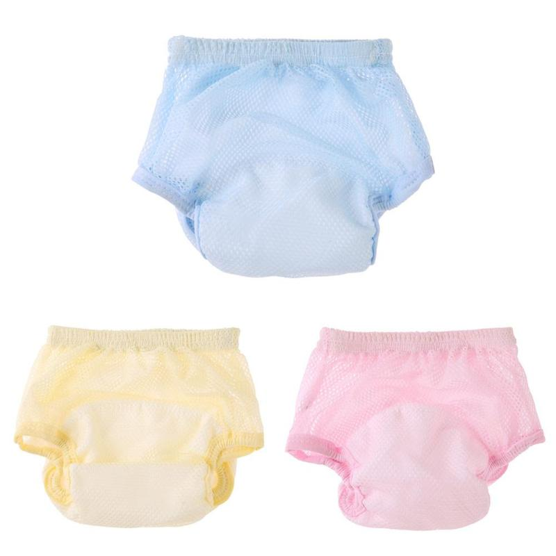1Pc Baby Elastic Underwear Swim Diaper Adjustable Cloth Diapers Pool Pant Swimming Diaper Cover Reusable Washable Baby Nappies