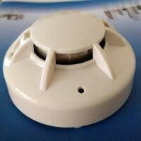 4 Wire MCU Conventional Smoke Detector Conventional Smoke Detector With Relay Output 24V Smoke Alarm