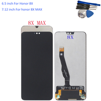Original LCD For Huawei Honor 8X Honor 8X MAX LCD Display Touch Screen Digitizer Assembly Replacement With Tools Black