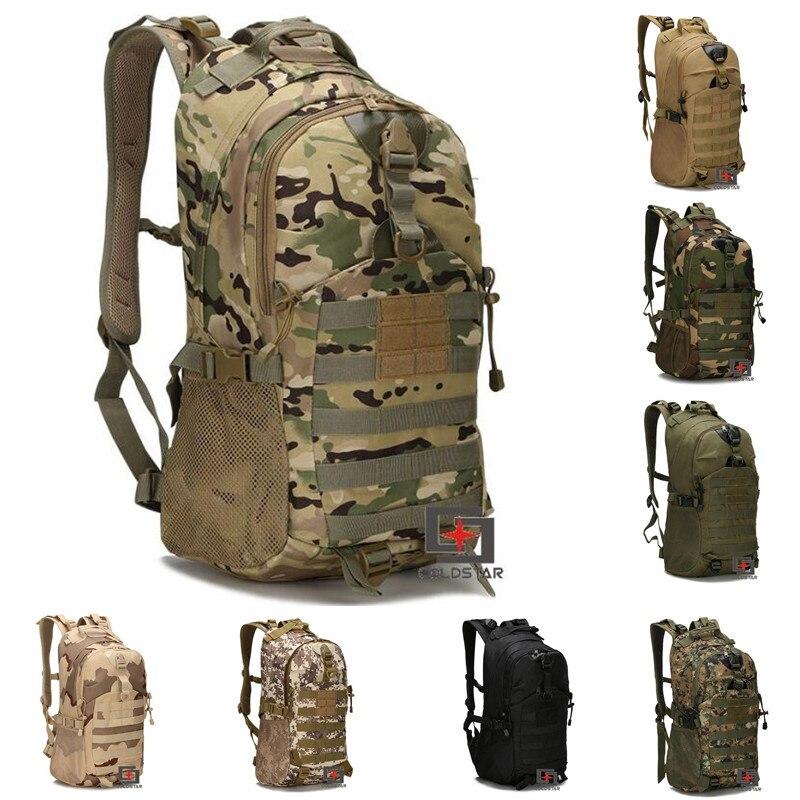 2a25d09b61f0 Nylon Tactical Military Backpack Rucksack Bags Assault Pack Daypack  Waterproof Hiking Camping Outdoor Sport Travel Trekking Bag