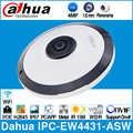 Dahua IPC EW4431 ASW 4mp panorama 180 graus poe wifi fisheye câmera ip microfone embutido slot para cartão sd alarme de áudio em/para fora interface