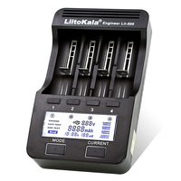 Liitokala Lii500 LCD Charger 18650 26650 18500 21700 3.7V AA NiMH Lithium Battery / AAA1.2V Battery Charger
