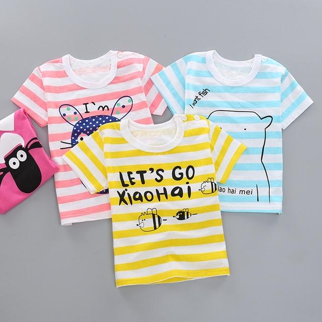 Cartoon Short Sleeve T-shirt