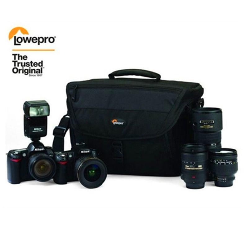 Offre spéciale sac à bandoulière unique Lowepro Nova 200 AW (noir) sac à bandoulière pour appareil photo-in Sacs pour appareil photo from Electronique    1