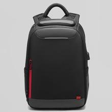 Men Casual USB Charging Work Backpack Large Space Short Trip Waterproof Travel Bag 15.6 inch Laptop Back Pack School Luggage Bag
