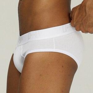 Image 1 - Marca ORLVS sexy gay calzoncillos hombres ropa interior cueca tanga calzoncillos bikini para hombres push up pene bragas para gay transparente hombres ropa interior