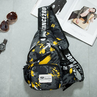 Street Pop New Popular Oxford Bag Sew Tight Hike Chest Pack Young People S Hip Hop