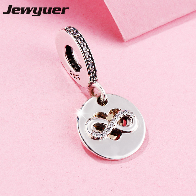 New Heart dangle charms with gold love heart Fit charm bead 925 sterling silver bracelets pendants DIY gift fine jewelry GD118 купить в Москве 2019