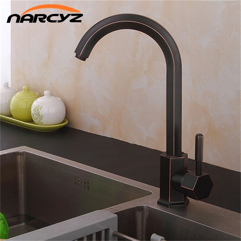 Narcyz Free ShippingEuropean new Black kitchen faucet  hot and cold water faucet dish single hole faucet XT-46 жилет мужской baon цвет зеленый b658201 moss размер xxl 54