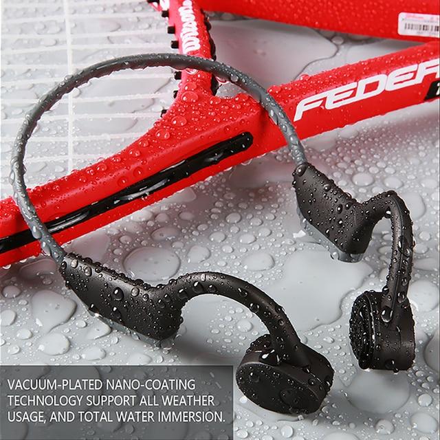 سماعات بلوتوث 5.0 S. Wear لاسلكية التوصيل العظام سماعة الرياضة في الهواء الطلق سماعة مع ميكروفون سماعات يدوي