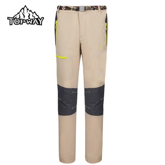 Nuevo Llega El Ocio Al Aire Libre de Secado rápido Pantalones Largos Hombres Senderismo Viajes Transpirable Pantalones Pantalon Homme Casual pantalones de Chándal