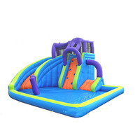High quality Oxford cloth inflatable slides water slide inflatable water slide for fun